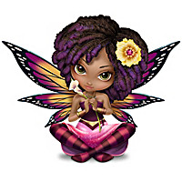 "Jasmine Becket-Griffith ""Butterfly Virtues"" Fairy Figurines"