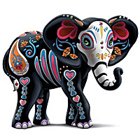 "Blake Jensen ""Soulful Spirits"" Elephant Figurine Collection"