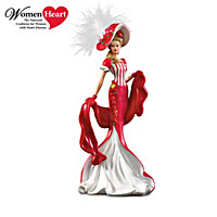 """Dona Gelsinger """"Heart And Soul"""" Lady Figurine Collection"""