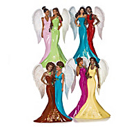 Blessings Of Sisterly Love Figurine Collection