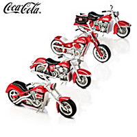 Refreshing Rides COCA-COLA Motorcycle Sculpture Collection