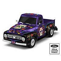 Sugar Skull Ford Truck Sculpture Collection