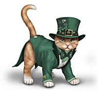 "Blake Jensen ""Purr-fect Lucky Charm"" Cat Figurine Collection"