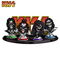 KISS Rockers To The Bone Figurine Collection