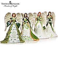 Thomas Kinkade's Eternal Love Angels Figurine Collection