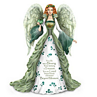 Thomas Kinkade Irish-Inspired Remembrance Angel Figurines