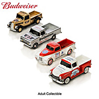 Budweiser Refreshing Rides Pickup Truck Sculpture Collection
