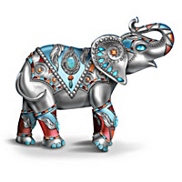 """Jewels Of The Sedona"" Elephant Figurine Collection"