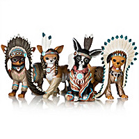 Feathers \'N Fur Chihuahua Figurine Collection