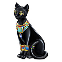 """Egyptian Treasures Of Purr-fection"" Black Cat Collection"