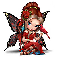Jasmine Becket-Griffith Fairy and Songbird Figurines