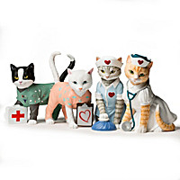 Tender Purring Care Figurine Collection
