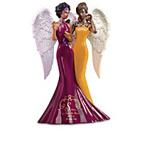 Keith Mallett Sisterly Love Angel Figurine Collection