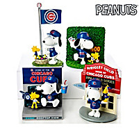 Snoopy Chicago Cubs Fan-itude Figurine Collection