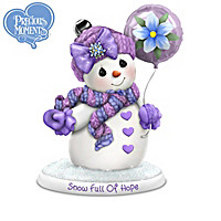Snow Buddies For A Cure Figurine Collection