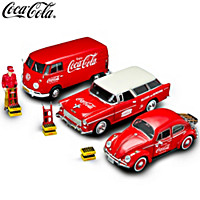 On The Road With COCA-COLA Diecast And Accessory Collection