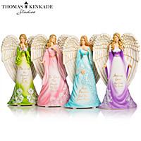 Thomas Kinkade\'s Amazing Grace Angels Figurine Collection