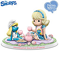 Granddaughter I Smurf You Figurine Collection