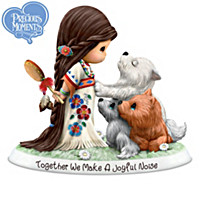 Precious Moments Spirit Of The Wild Figurine Collection
