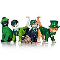 "Blake Jensen ""Purr-fect Lucky Charm"" Cat Figurine Collection"
