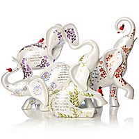 Your Spirit Lives Forever In Our Hearts Figurine Collection