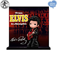 Precious Moments Elvis Presley Album Cover Figurine Collection
