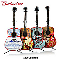Budweiser Music And Memories Guitar Sculpture Collection