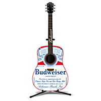 "Budweiser ""Music And Memories"" Guitar Sculpture Collection"