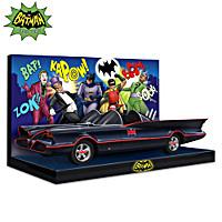 Batman\'s All-Vehicle Pursuit! Sculpture Collection