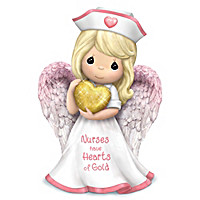 Precious Moments Nurses Are Heaven Sent Figurine Collection