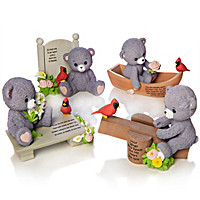 """Faithful Fuzzies """"Forever In My Heart"""" Figurine Collection"""