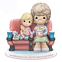 Precious Moments With My Granddaughter Figurine Collection