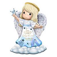 "Precious Moments ""Light Of Love"" Illuminated Angel Figurines"