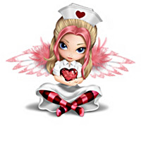 "Jasmine Becket-Griffith ""Angels Of Caring"" Nurse Figurines"