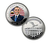 The President Obama Legacy Coin Collection