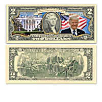 Make America Great Again $2 Bills Currency Collection