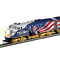 """President Donald Trump Express"" Electric Train Collection"