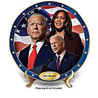 President Biden 2020 Election Porcelain Collector Plates