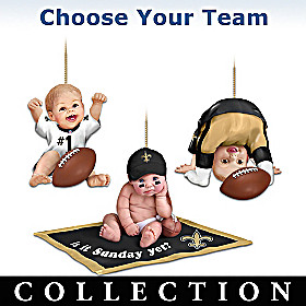 Born To Be An NFL Fan Ornament Collection