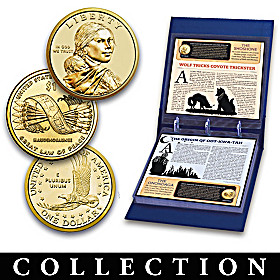 Uncirculated Native American Golden Dollars Coin Collection