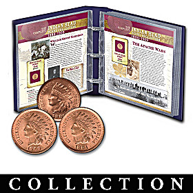 The Complete Indian Head Penny Coin Collection