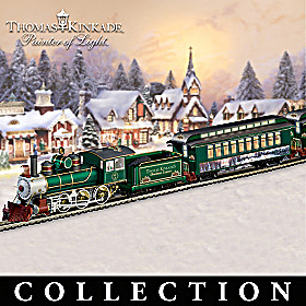 Thomas Kinkade Christmas Express Train Collection