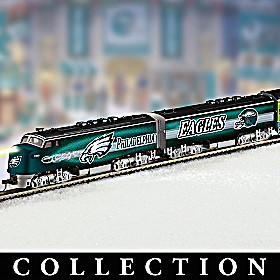 Philadelphia Eagles Express Train Collection