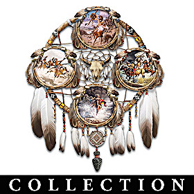 The Spirit Warrior Collector Plate Collection