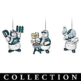 Philadelphia Eagles Coolest Fans Ornament Collection