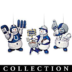 Indianapolis Colts Coolest Fans Ornament Collection