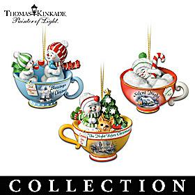 Thomas Kinkade Sweet Teas Ornament Collection