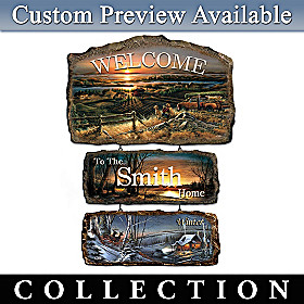 Seasons Of Splendor Personalized Welcome Sign Collection