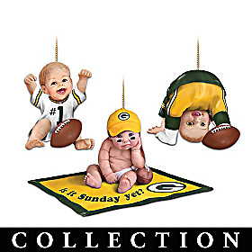Born To Be A Packers Fan Ornament Collection
