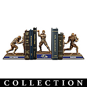 Baltimore Ravens Legacy Bookends Collection